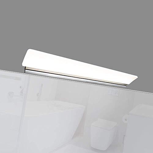 LED 450mm Spiegelleuchte Badleuchte Badlampe Spiegellampe Aufbauleuchte, Lichtfarbe:warmweiß