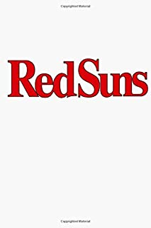Red Suns Notebook: (110 Pages, Lined, 6 x 9)