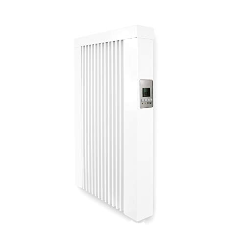 Calefacción eléctrica de 650 W, con núcleo de arcilla refractaria, radiador eléctrico con piedra de memoria de arcilla refractaria con termostato.