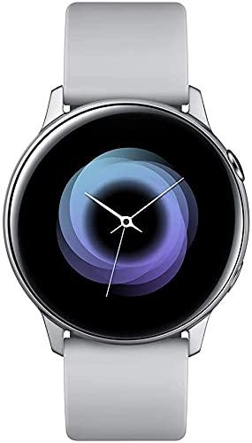 "Samsung Galaxy Watch Active Reloj Inteligente Plata SAMOLED 2,79 cm (1.1"") GPS - Relojes Inteligentes (2,79 cm (1.1""), SAMOLED, Pantalla táctil, GPS (satélite), 25 g, Plata)"