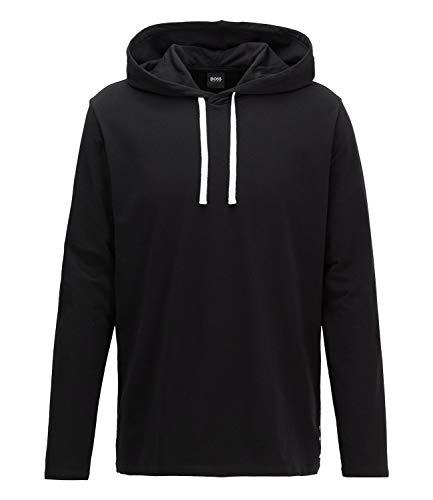 BOSS Herren Identity LS-Shirt H. Langarmshirt, Schwarz (Black 001), Large (Herstellergröße: L)