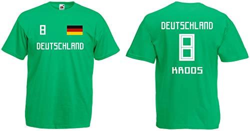 Deutschland Kroos T-Shirt Trikot WM-2018 Look