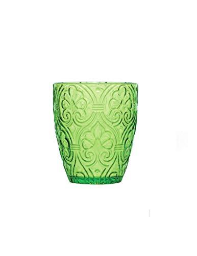 Fade Maison Corinto Set 6 Bicchieri Verde 300 Ml