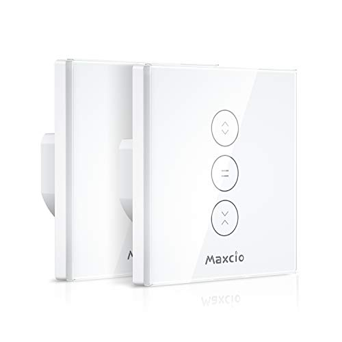 【LED Controlable】WiFi Interruptor Persiana, Maxcio...