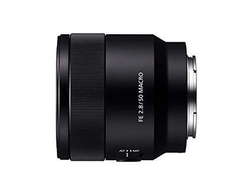 Sony SEL-50M28 Obiettivo a Focale Fissa 50 mm F2.8, Mirrorless Full-Frame, Attacco E, SEL50M28
