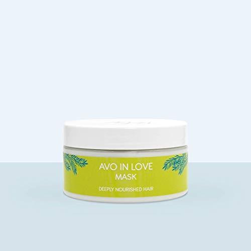 Mermaid + Me Avo in Love Repairing Mask (200 ml) – Intensive Haarmaske für geschädigtes Haar – Haarkur gegen trockene Haare – orientalischer Duft