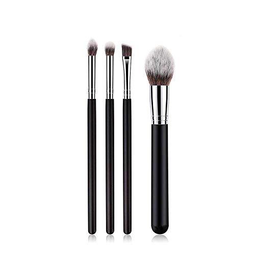 MEISINI Maquillage Brush Kit Set Pinceau À Paupières Fondation Fard À Paupières Poudre Sourcils Eyeliner Maquillage Lèvres Brosses Outil De Beauté Cosmétique, 4Pcs MY 2H
