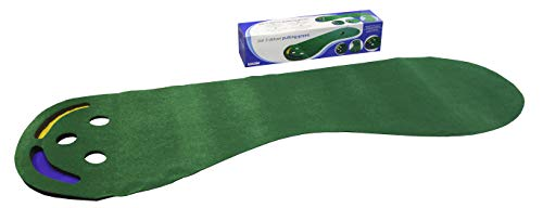 Longridge Putt N Hazzard Tapis de putting golf Vert