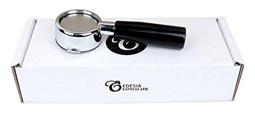 Portafiltros desnudo sin fondo y con mango para cafeteras de espresso de palanca LA PAVONI 51mm – Europiccola Stradivari Professional, etc.- Canasta de 14 g