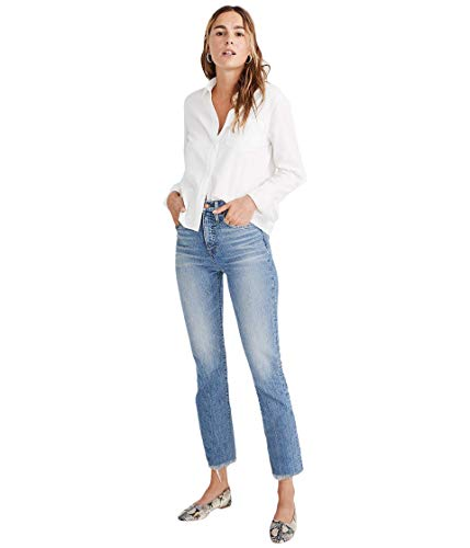 Madewell The Perfect Vintage Jean in Ainsworth Wash Ainsworth Wash 26 28