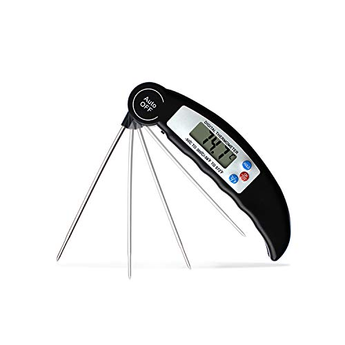 Meat Thermometer Oven Safe Digital Meat Thermometer Instant Read Wireless Meat Thermometer for grilling Bbq Meat Thermometer Best Meat Thermometer Probe Foldable Meat Thermometer