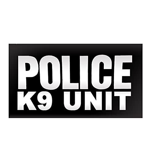 K9 UNIT Body Armor Bullet Proof Ballistic vest Tactical PVC Rubber Patch set POLICE LAW ENFORCEMENT patches CBP