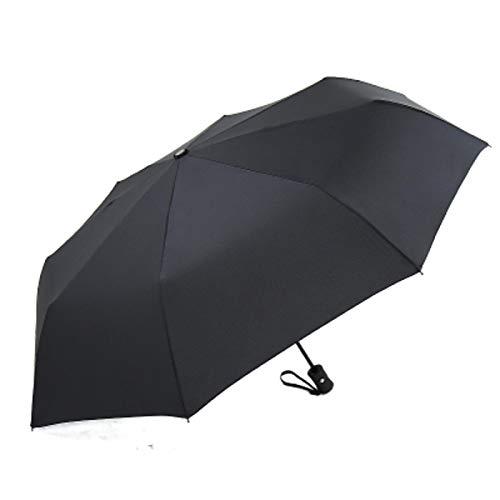 XCYG Creative Meteor Paraguas Completamente automático Moda Negro 3 Sombrilla Plegable para el Sol Lluvia Mujeres Hombres Paraguas A Prueba de Viento Parasol Grande BlackUmbrella