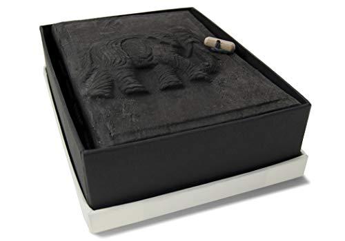 Life Arts olifant boomschors fotoalbum handgemaakt mini as