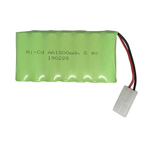 Batería para Juguetes eléctricos Todoterreno Escalada Control Remoto Coche Barco Robot 8.4v 1800mAh batería Recargable Red