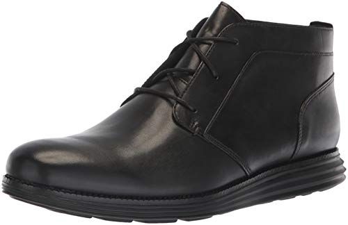 Cole Haan Men's Original Grand Chukka Boot, Black/Black, 15 W US