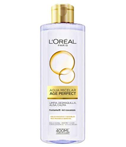 L'Oreal Paris Age Perfect Agua Micelar - 6 Paquetes de 400 gr - Total: 2400 gr