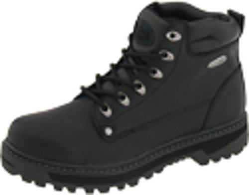 Skechers Pilot Black Oily Leather 13