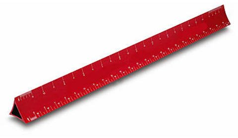Alumicolor Architect Scales Hollow Architect Scale red