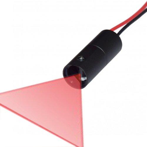 Quarton - Módulo láser 3D-Scanner Line VLM-650-41 LPT-D90 (ángulo de ventilación: 90°, para escáner 3D de grado de consumo)