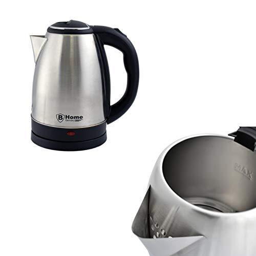 1,8L Elektro Edelstahl Wasserkocher, Kabellose Teekocher, Wasserkessel, Elektrokocher, Teekanne, Kaffeekanne - 1800 Watt