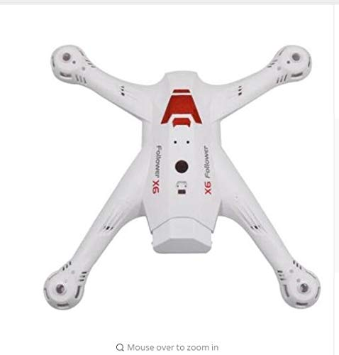 Vehicles-OCS Global Drone X183 X183S 5G RC Drone Quadcopter Spare Parts Motor propellers Blades Guard Landing Gear Body Shell Charger etc. - (Color: White Shell)