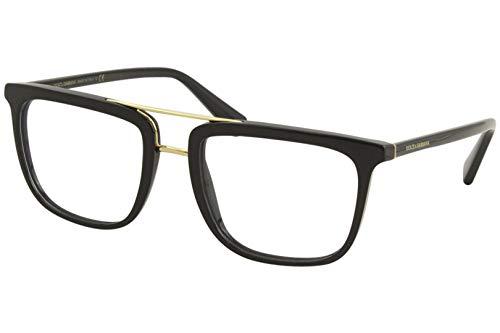 Dolce & Gabbana Men's Eyeglasses D&G DG3323 DG/3323 501 Black Optical Frame 54mm