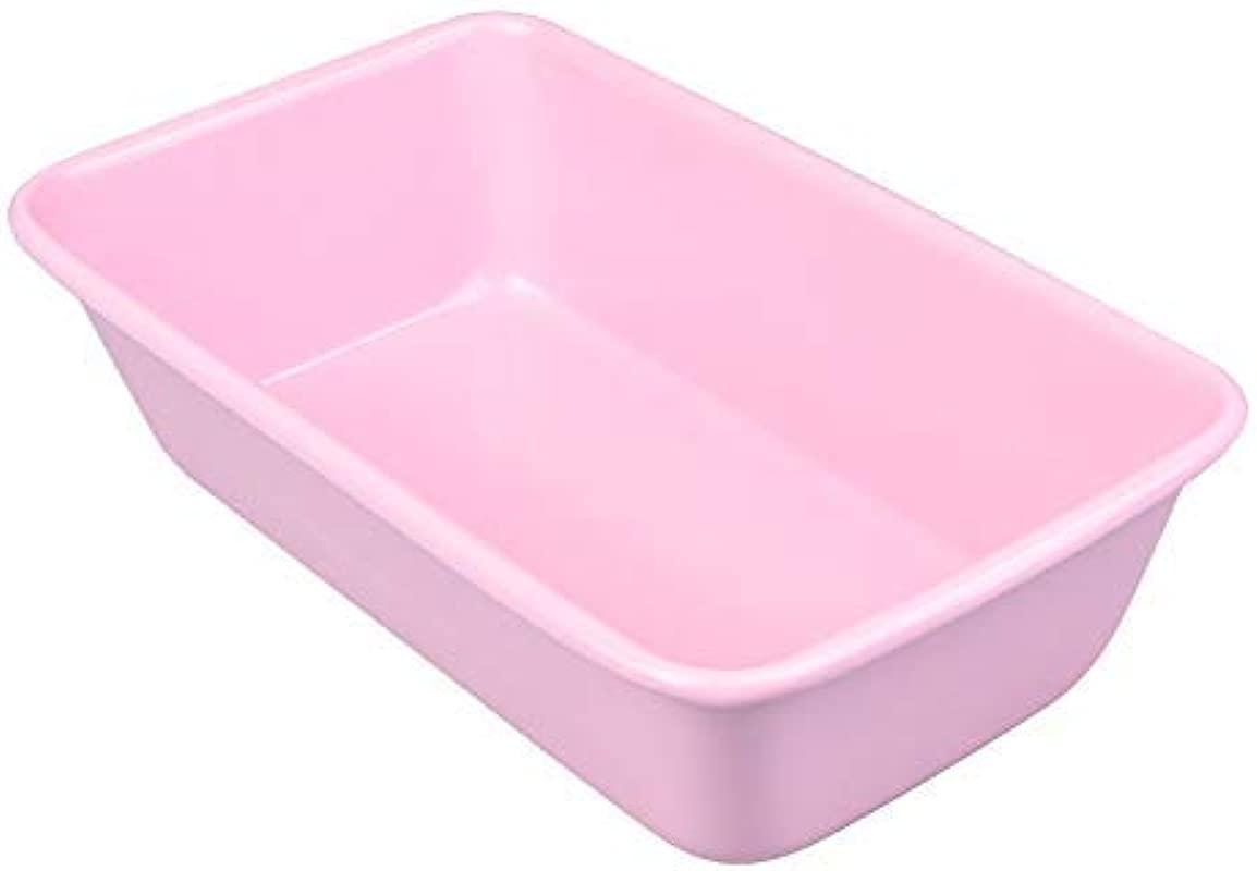 Pink Loaf Pan 9x5 Baking Bread Meat Tin For Instant Pot Large Banana Pans Meatloaf 2lb Nonstick