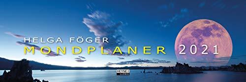 Mondplaner 2021: Tischkalender 32,0 x 10,7 cm