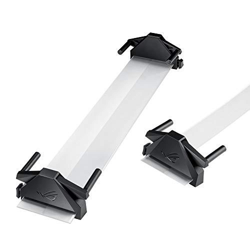 画面への没入感を高めるROGベゼルフリーキット 27インチ以下(27インチ含む)、ベゼル幅13mm未満、ディスプレイの厚さ20mm以上の平面モニターに対応。ROG Bezel Free Kit ABF01