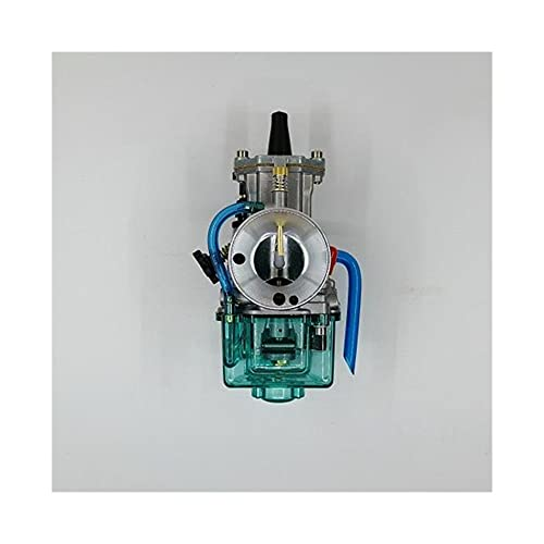 Carburador Motocicleta para K&eihin para K&Oso para OKO para Power Jet para carburador P&WK para 28 30 32 34 mm 2T 4T tazón Cubierta Transparente Azul Carburador