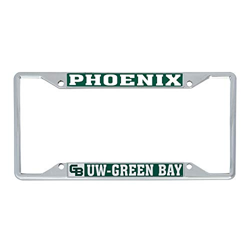 Desert Cactus University of Wisconsin-Green Bay UWGB Phoenix NCAA Metal License Plate Frame for Front Back of Car Officially Licensed (Mascot)
