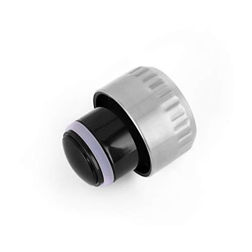 KollyKolla Coperchio per Bottiglia d'Acqua, Tappo per Bottiglia di plastica in Acciaio Inossidabile e BPA-Free, Adatto per Bocca da 42,5 mm