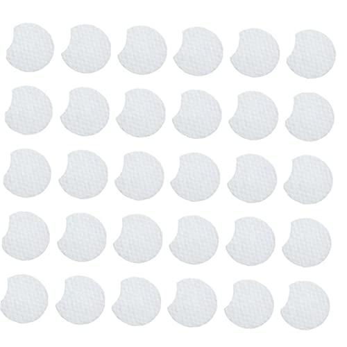55PCS acné resurfaçage salicylique tampons de coton acide peau du visage Feuille d'huile Contrôle anti acné Traitements