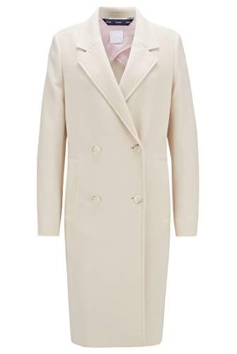 BOSS Damen Oreath Business Suit Jacket, Open White (118), 44 EU