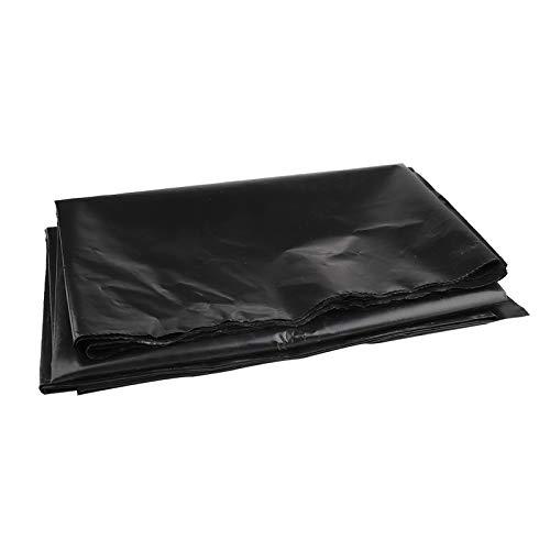 YHNJI Teichfolie aus Gummi, 1,5 x 3 m, schwarz, wasserdichte Membran für Wasser, Garten, Bachläufe, Brunnen, Koi-Teiche