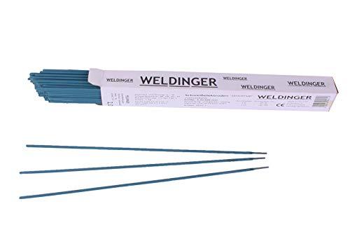 Schweißelektroden WELDINGER Universal 2,0x300 mm 1 kg (Stabelektroden auch verzinkter Stahl)