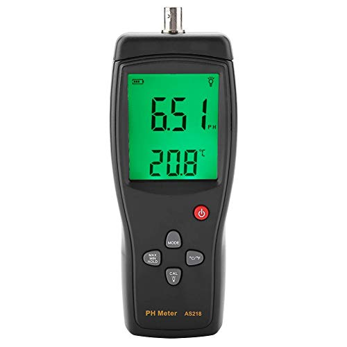Akozon Digitales PH-Messgerät SMART SENSOR AS218 Digitales PH-Messgerät Tester PH-Messgerät PH-Messgerät AS218 PH-pH-Messgerät 0,00~14,00 pH-Feuchtemessgerät