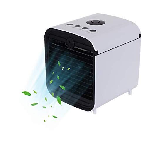Nifogo Klimageräte Mobiles Ventilator Luftkühler, 3 in 1 Klimaanlage Luftkühler, für Büro, Hotel, Garage (Weiß)