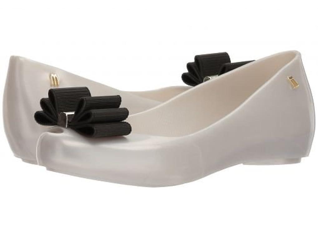 乙女みすぼらしいペルセウスMelissa Shoes(メリッサシューズ) レディース 女性用 シューズ 靴 フラット Ultragirl Sweet + Jason Wu - White Sparkly [並行輸入品]