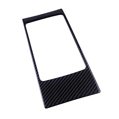 Cubierta del panel del panel del panel del panel de la caja de almacenamiento del escondite de la consola de la consola de la fibra de carbono para Audi A3 S3 8V 2014-2019 Accesorios de interior