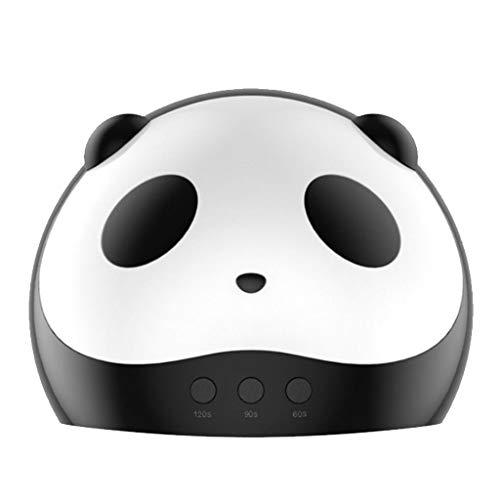 Panda Plafondlamp voor fototherapie, 36 watt, smart led, infrarood, inductie, tijdgestuurde manicure-machine, uv-led, USB-poort, schoonheidsgereedschap, geschikt voor familiesalon