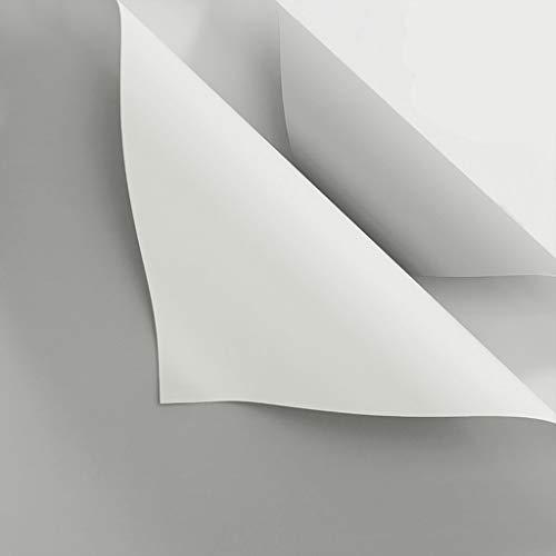 Zhou-WD Papel de Embalaje Bicolor, Color sólido Manual Origami Flower Shop Papel de Envoltura for Ramo Impermeable Papel de Regalo for el día de la Madre 20 Piezas Origami