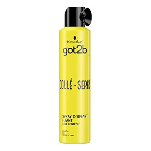 Schwarzkopf - Got2b - Spray Coiffant Fixant Cheveux Collé-Serré - 300ml