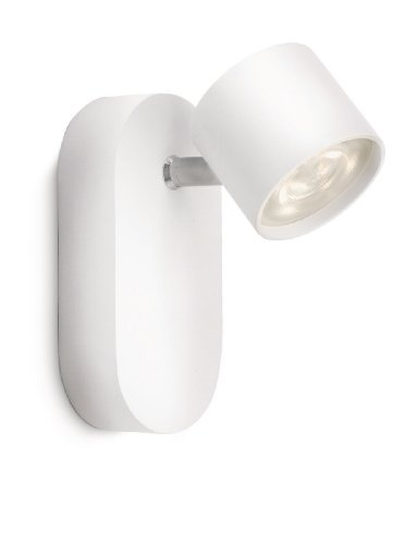 Philips LED-Wandspot 1-flammig 3 W, weiß 562403116