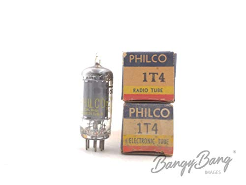 Buy Bargain 2 Vintage Philco 1T4/DF91/W17/1K2 Miniature Screened Pentode Valve- BangyBang Tubes