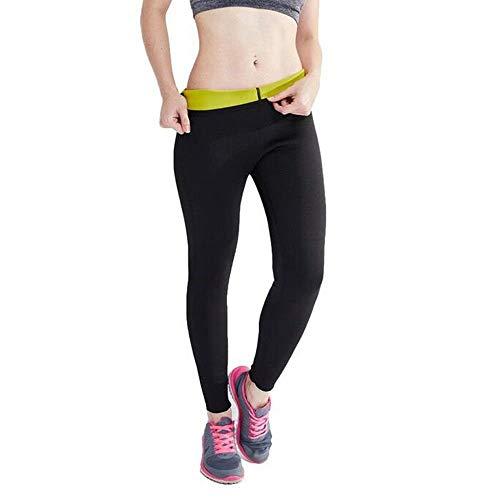 NOVECASA Pantalones Suana Deportivos Mujer de Neopreno Sauna Pants Alta Cintura para Sudoración,Quema Grasa,Adelgazante (2XL, Pantalones de Sudoración)