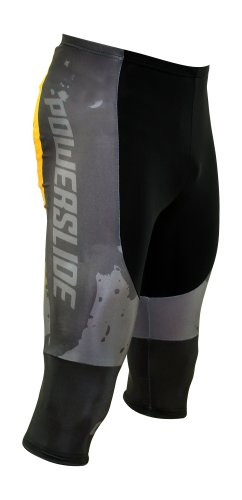 Powerslide Nordic Pants, grau schwarz orange, L, 900755/5