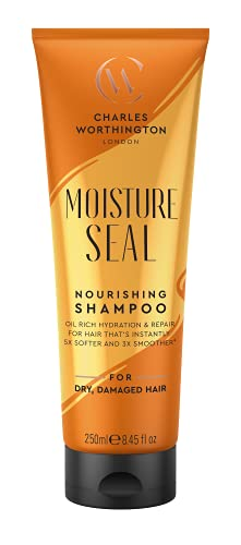 Charles Worthington Moisture Seal Nourishing Shampoo, Moisturising Shampoo...