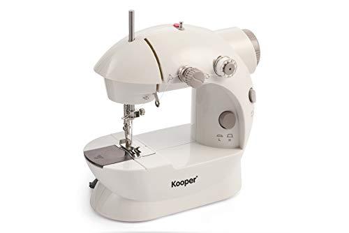 macchina da cucire kooper Kooper MINI MACCHINA DA CUCIRE BIANCO/GRIGIO ZIG ZAG 2419071